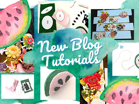 Watermelons and Welcome Signs! New Blog Tutorials