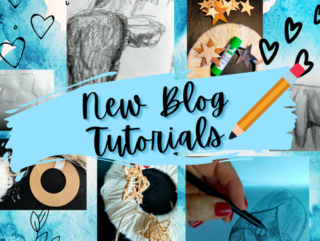 Weave and Draw: New Blog Tutorials