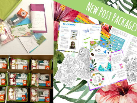 Hello Spring - Post Pack 45 and Craft Pack 3
