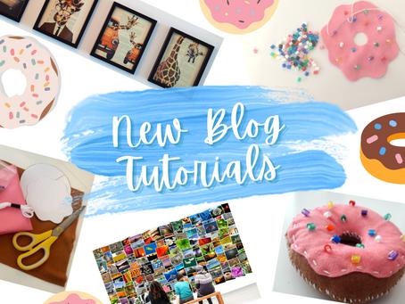 Galleries and Doughnuts: New Blog Tutorials