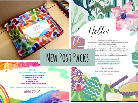Colour and Creativity! New Post Packs