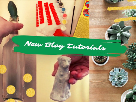New Life and Old Projects: Blog Tutorials