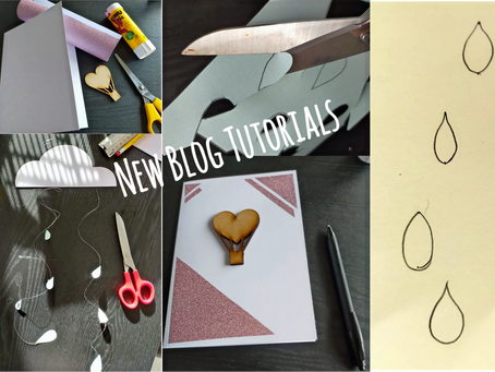 Paper Craft Inspiration: New Blog Tutorials