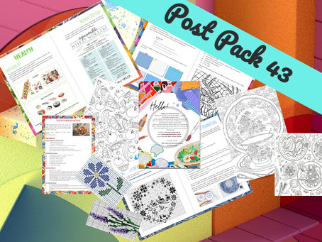 An Eclectic Mix: Post Pack 43