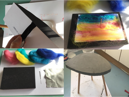 Felting and Furniture! New Blog Activities