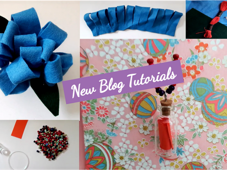 Brooches and Beads: New Blog Tutorials