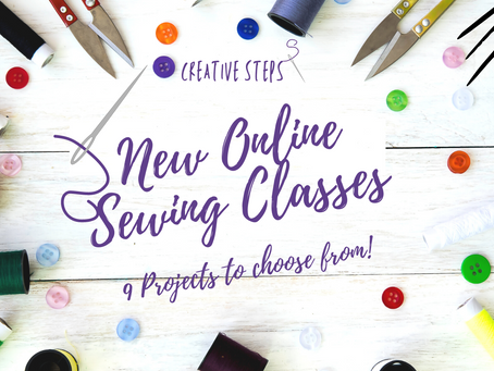 New Online Sewing Classes