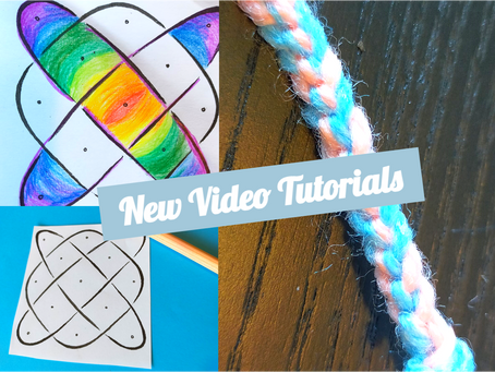 Video Tutorials: Rhythm Drawing and Finger Knitting