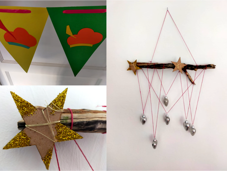 Bling up your Walls! Bunting and Wood Hanging Blog Tutorials