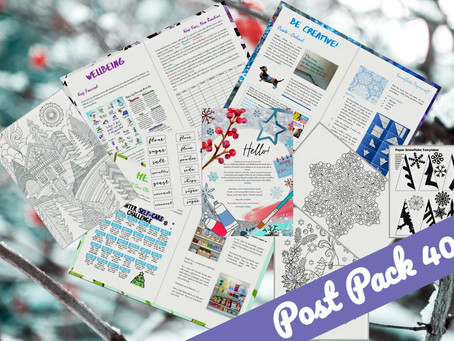 Winter Wellbeing with Post Pack 40