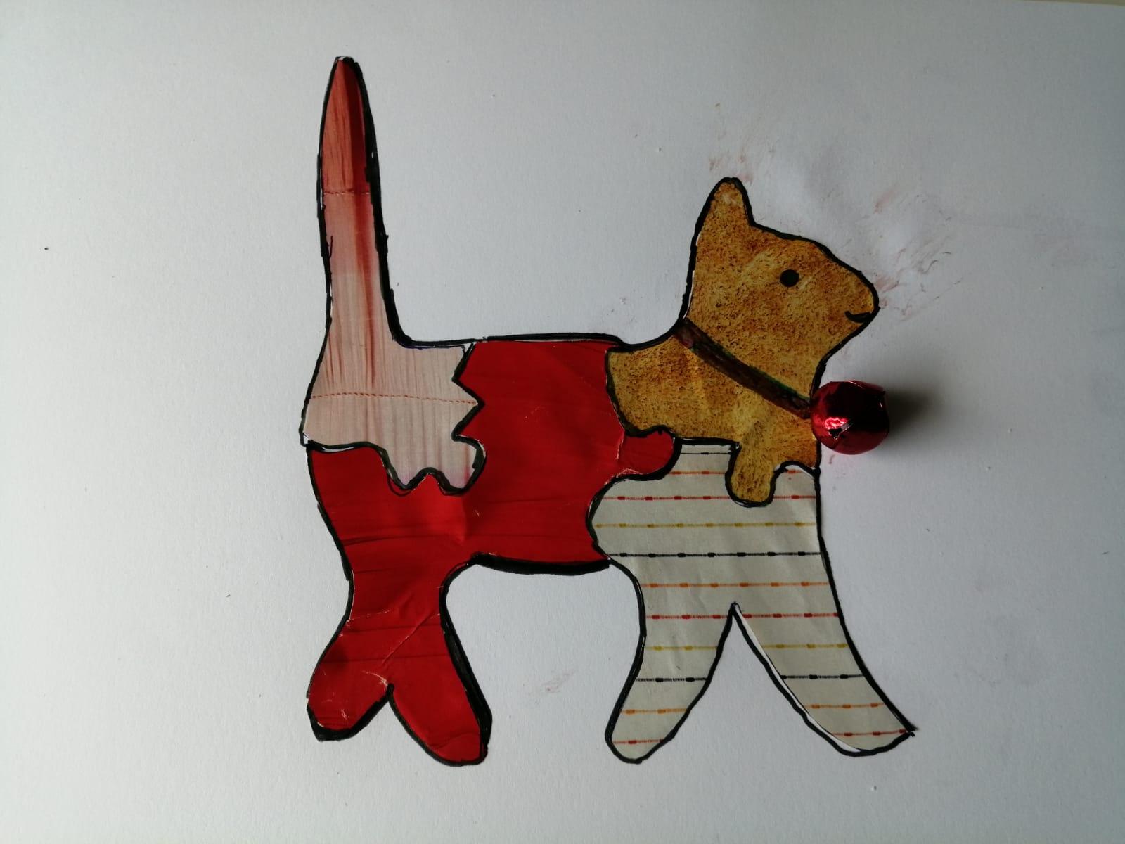 Jigsaw Cat
