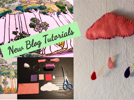 Clouds and Colouring: New Blog Tutorials