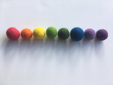 Making Multicoloured: New Crafting Activities