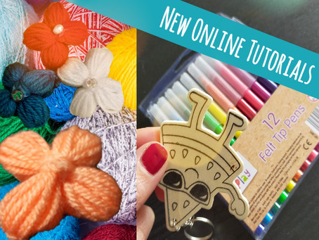 Colourful Crafts: New Online Tutorials