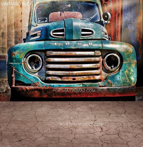 Vintage Truck Backdrop