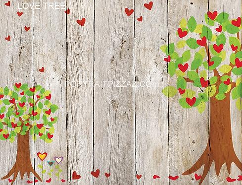 Love Tree Backdrop