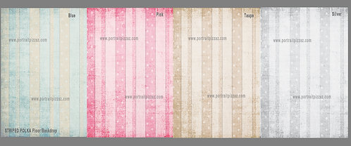 Striped Polka Backdrop