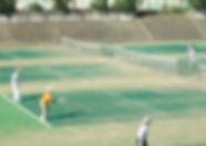 大府市内テニスコート:砂入り人工芝.jpg