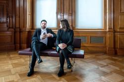 Mattea Meyer et Cédric Wermuth
