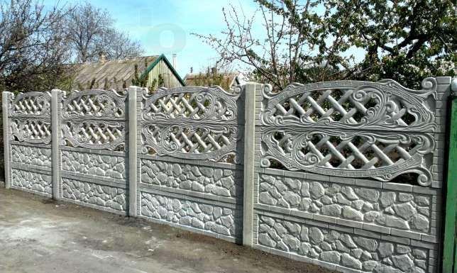 Забор 2 метра
