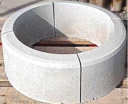 бордюр бетонный полукруглый поворотный в кемерово