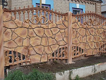 Сборный бетонный забор  в Кемерово