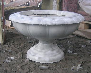 вазон чаша 40*60 см 1500 рублей
