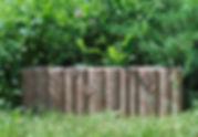 бордюр дубовый садовый