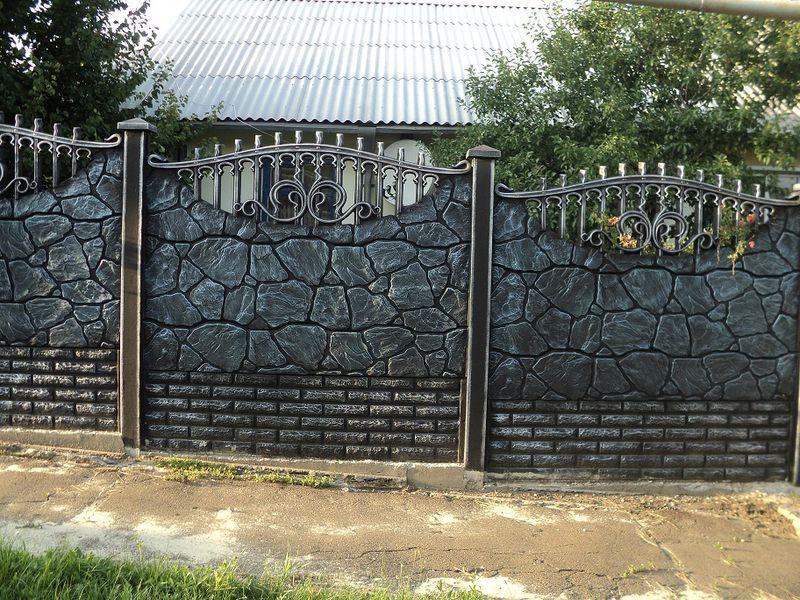 ответил гагарин, разрисовать бетонный забор под камень фото представляют