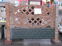 Еврозабор бетонный в Кемерово стенд
