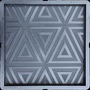 """формы для тротуарной плитки """"Калифорния"""" 30*30*3 см"""