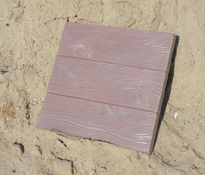 дощечка квадрат коричневая (вариант)