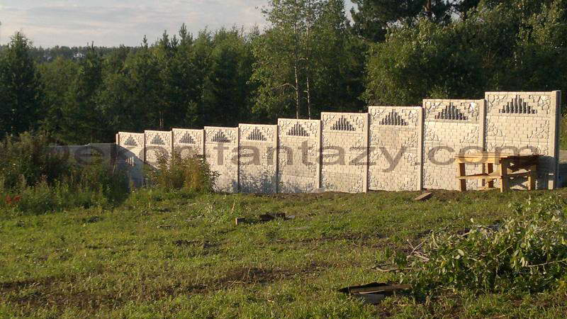"Забор бетонный ""Антик"""