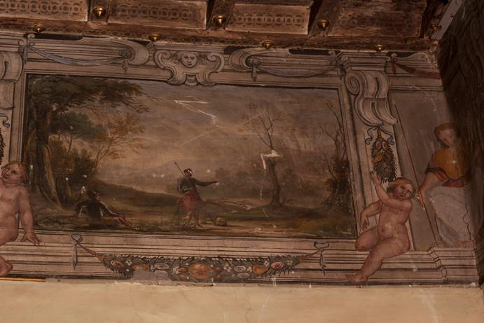 Scene mitologiche, lo Studio, Agostino Tassi