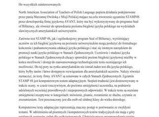 Letter of Recommendation For  Mr. Marzena Owinski