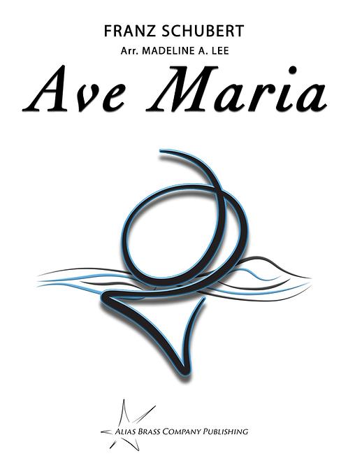 Ave Maria for Horn Quartet (Score & Parts)
