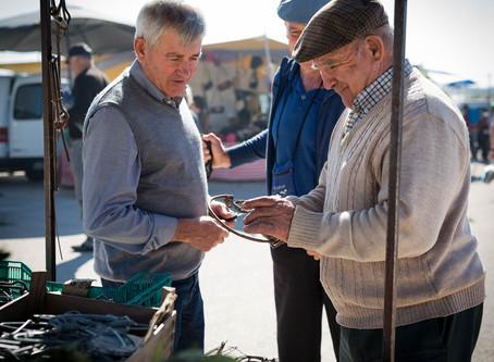 artesãos dos mercados algarvios