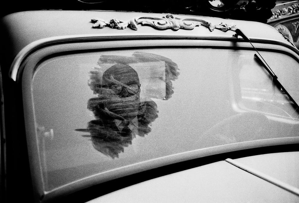 """Neal Slavin. """"Dusty Lisbon Funeral Car"""", 1968."""