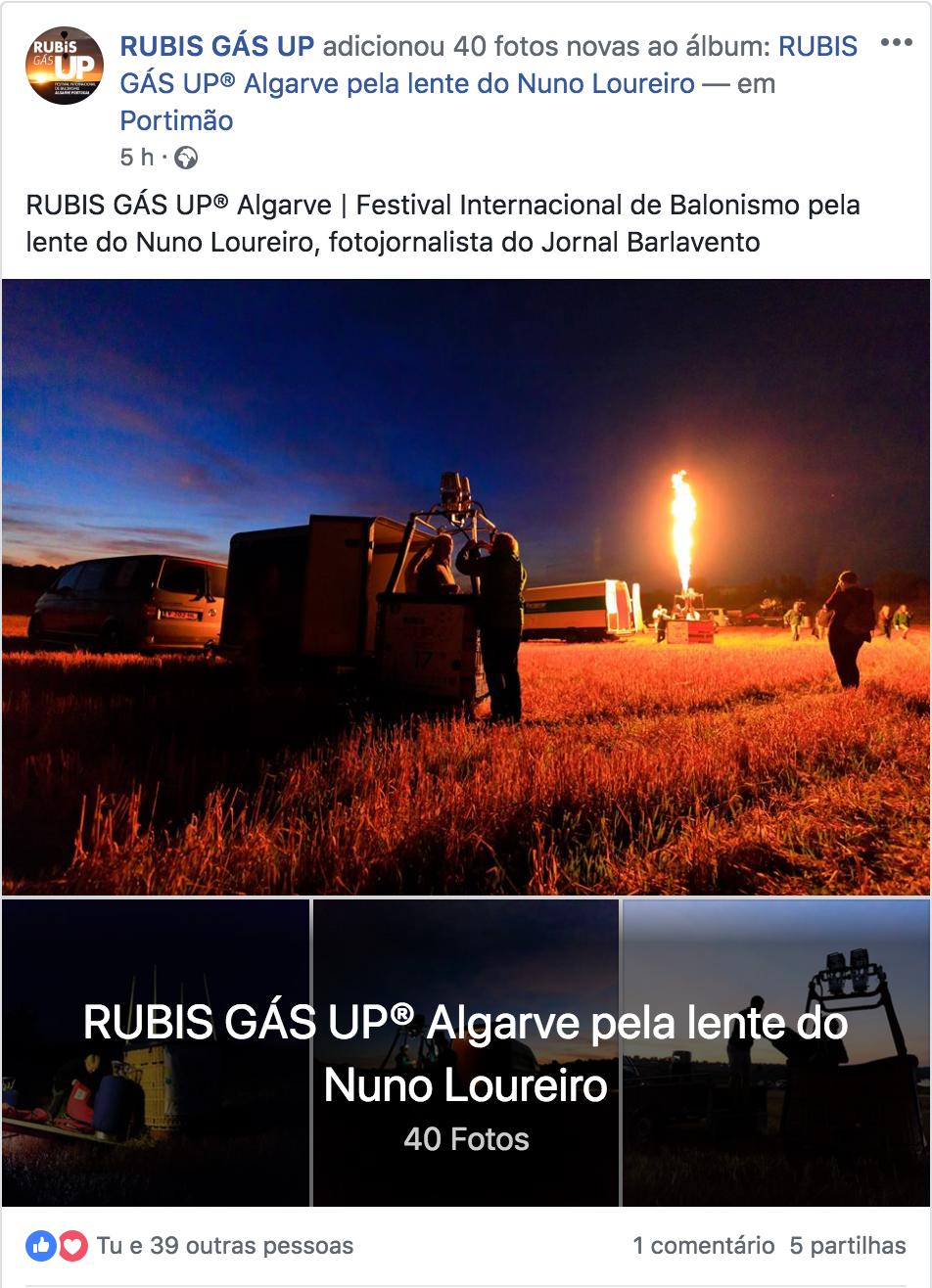 RUBIS GÁS UP Fb