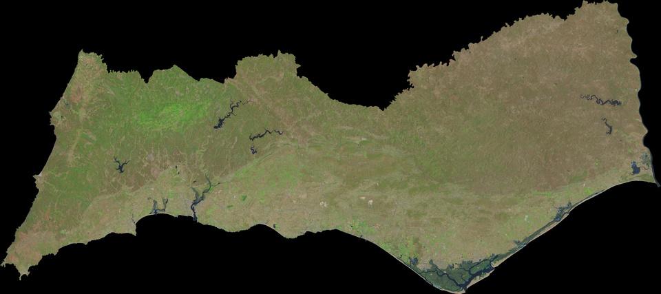 21 de Julho de 2015 - Landsat 8 'Natural Color' com 30 metros de resolução espacial