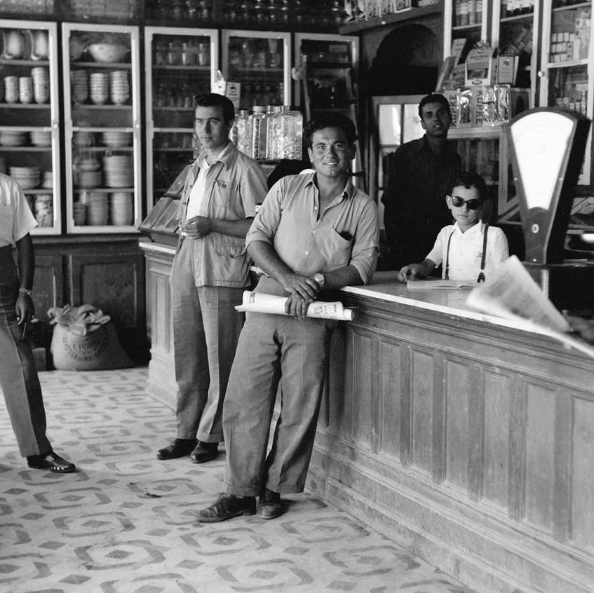 TAVIRA e os ANDRADES • economia • Mercearia Vital, em 1958
