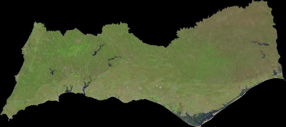 20 de Maio de 2016 - Landsat 8 'Natural Color' com 30 metros de resolução espacial