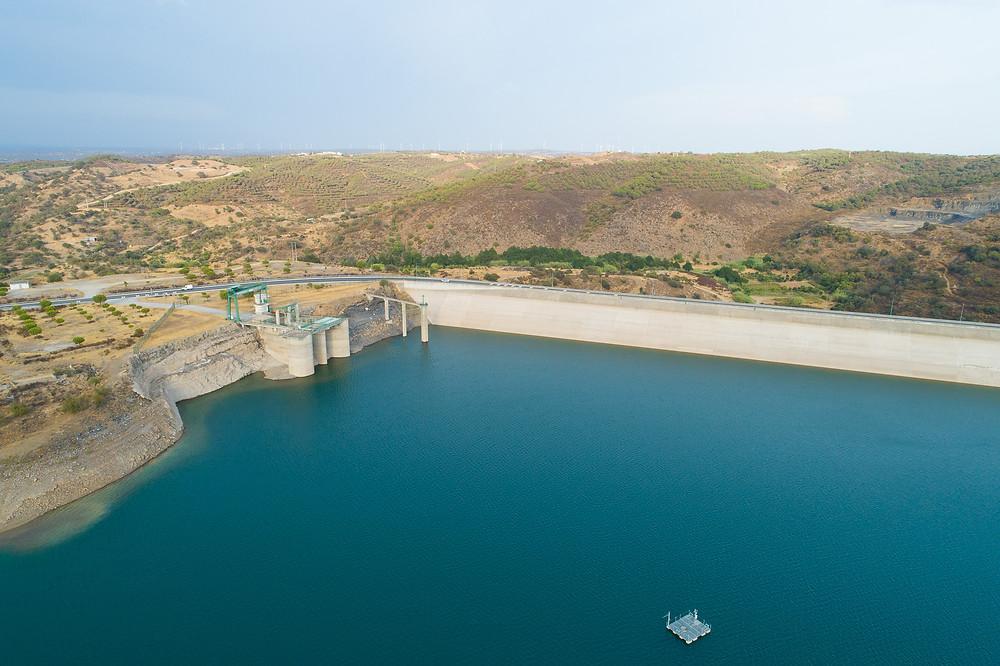Barragem de Odeleite - 6 de Setembro de 2019