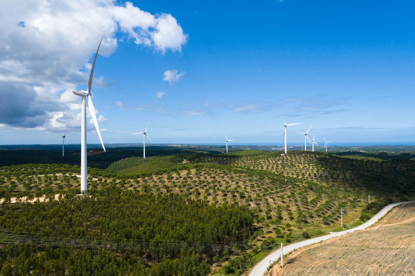 Parque Eólico da Bordeira, Serra de Monchique   |   Aljezur   |   13 de Junho de 2020