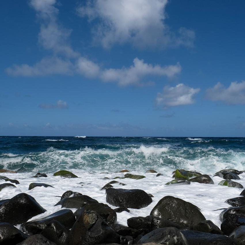 Teleférico da Rocha do Navio ••• na praia