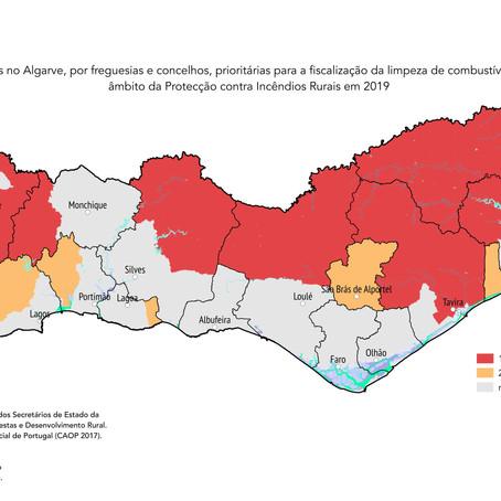 Mais de metade do Algarve exige medidas de protecção contra incêndios rurais!