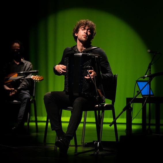 João Campos Palma | músico, acordeão | Cineteatro Louletano | 9 de Maio de 2021
