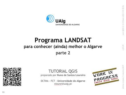 QGIS | LANDSAT | Algarve