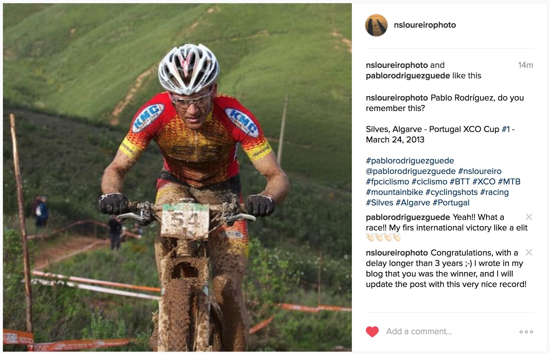 Pablo Rodríguez Instagram