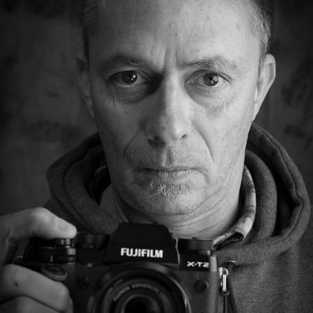 Alfredo Cunha e um workshop de retrato